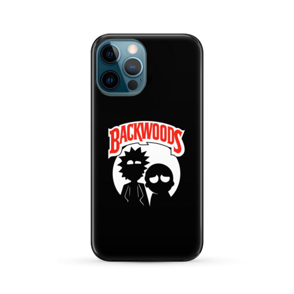 Rick and Morty Backwoods for Customized iPhone 12 Pro Max Case