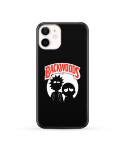 Rick and Morty Backwoods for Simple iPhone 12 Case