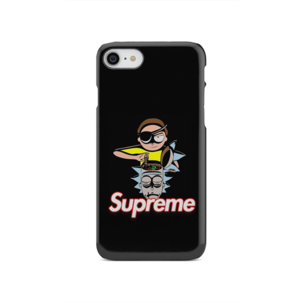 Rick and Morty Black Supreme for Amazing iPhone SE 2020 Case
