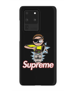 Rick and Morty Black Supreme for Amazing Samsung Galaxy S20 Ultra Case Cover