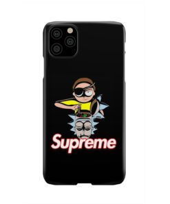 Rick and Morty Black Supreme for Beautiful iPhone 11 Pro Max Case Cover