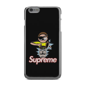 Rick and Morty Black Supreme for Cool iPhone 6 Plus Case
