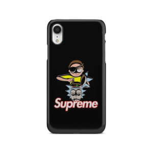 Rick and Morty Black Supreme for Newest iPhone XR Case