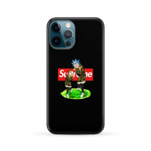Rick and Morty Supreme for Best iPhone 12 Pro Max Case Cover