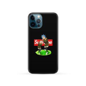 Rick and Morty Supreme for Cute iPhone 12 Pro Case Cover