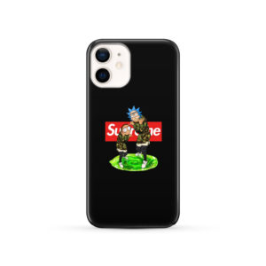 Rick and Morty Supreme for Simple iPhone 12 Case Cover