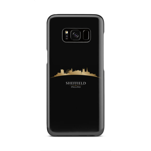 Sheffield City Skyline England for Beautiful Samsung Galaxy S8 Case
