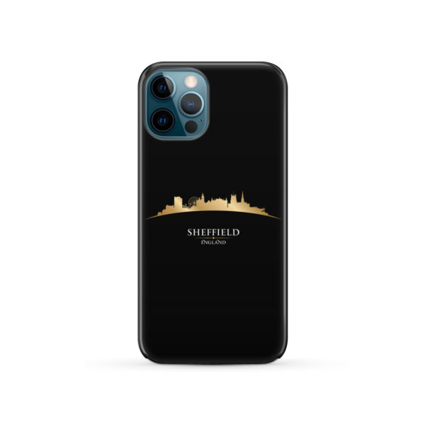 Sheffield City Skyline England for Best iPhone 12 Pro Case