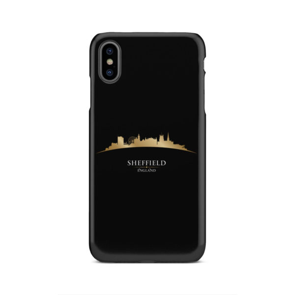 Sheffield City Skyline England for Cool iPhone XS Max Case Cover