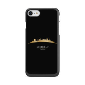 Sheffield City Skyline England for Custom iPhone 8 Case