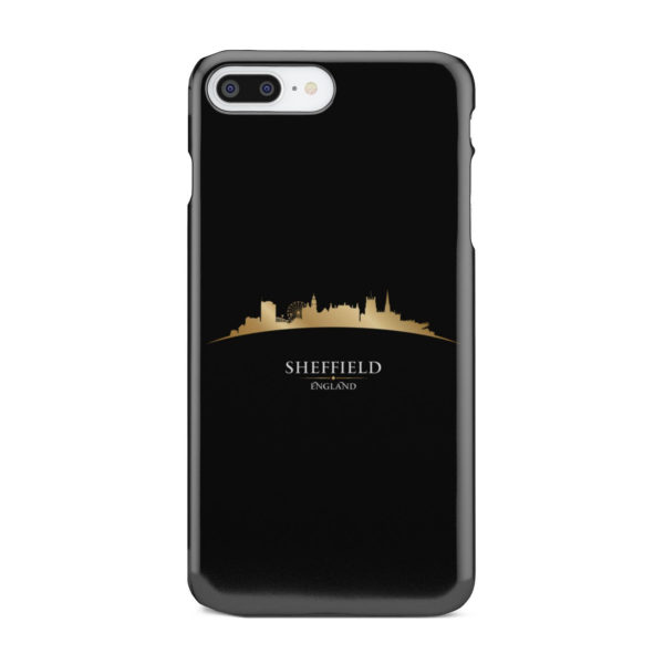 Sheffield City Skyline England for Custom iPhone 8 Plus Case