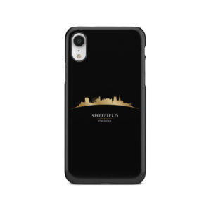 Sheffield City Skyline England for Custom iPhone XR Case Cover