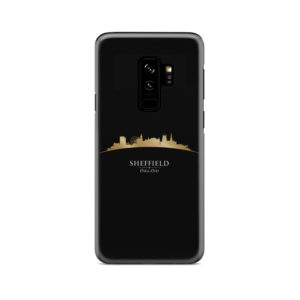 Sheffield City Skyline England for Custom Samsung Galaxy S9 Plus Case Cover