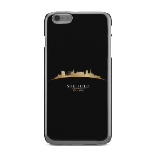 Sheffield City Skyline England for Customized iPhone 6 Plus Case Cover
