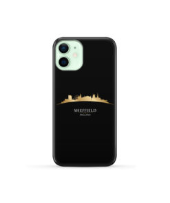 Sheffield City Skyline England for Newest iPhone 12 Mini Case Cover