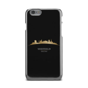 Sheffield City Skyline England for Personalised iPhone 6 Case