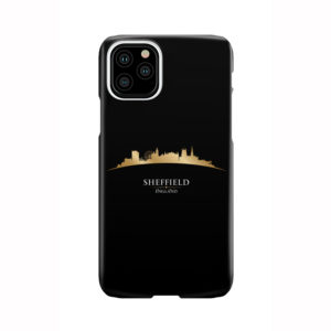 Sheffield City Skyline England for Premium iPhone 11 Pro Case