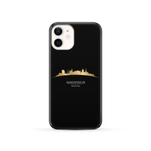 Sheffield City Skyline England for Simple iPhone 12 Case