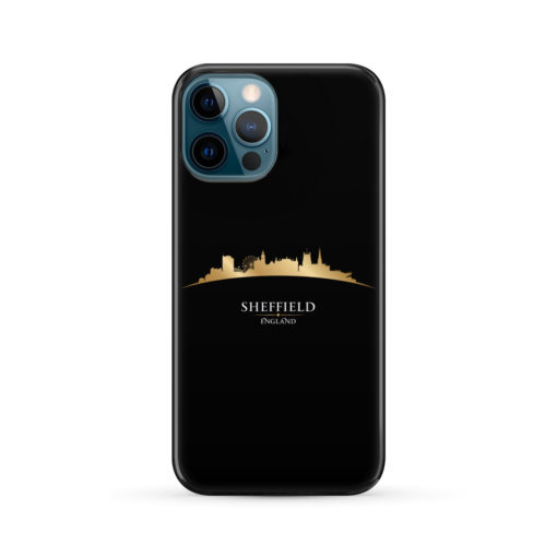 Sheffield City Skyline England for Simple iPhone 12 Pro Max Case