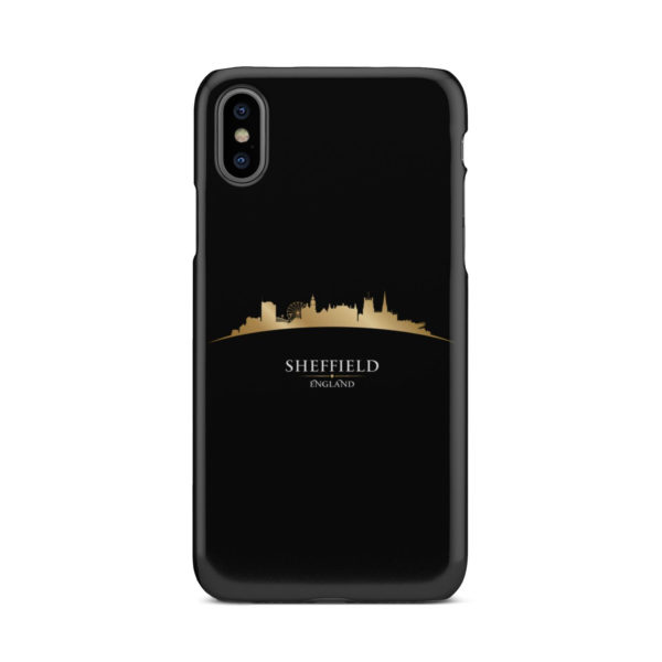 Sheffield City Skyline England for Simple iPhone X / XS Case