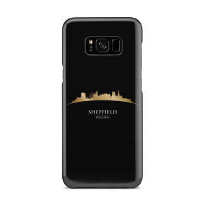 Sheffield City Skyline England for Stylish Samsung Galaxy S8 Plus Case Cover