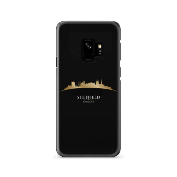 Sheffield City Skyline England for Stylish Samsung Galaxy S9 Case Cover