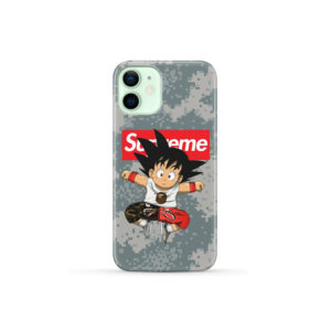 Son Goku Kid DBZ Bape Camo Supreme for Amazing iPhone 12 Mini Case