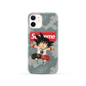 Son Goku Kid DBZ Bape Camo Supreme for Cute iPhone 12 Case Cover