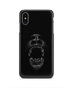 Wolves Howling for Stylish iPhone XS Max Case