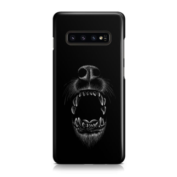 Wolves Howling for Stylish Samsung Galaxy S10 Case