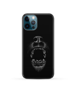 Wolves Howling for Unique iPhone 12 Pro Case Cover