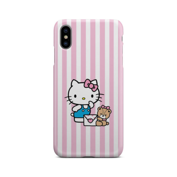 Cute Pink Hello Kitty for Amazing iPhone XS Max Case Cover
