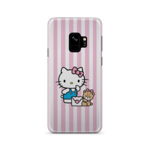 Cute Pink Hello Kitty for Amazing Samsung Galaxy S9 Case Cover