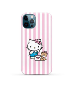 Cute Pink Hello Kitty for Custom iPhone 12 Pro Case