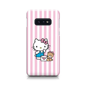 Cute Pink Hello Kitty for Custom Samsung Galaxy S10e Case Cover