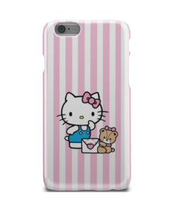 Cute Pink Hello Kitty for Customized iPhone 6 Case Cover