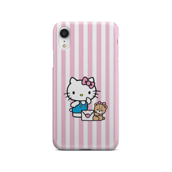 Cute Pink Hello Kitty for Customized iPhone XR Case Cover