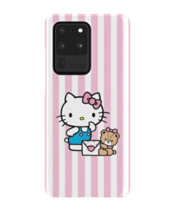 Cute Pink Hello Kitty for Customized Samsung Galaxy S20 Ultra Case Cover
