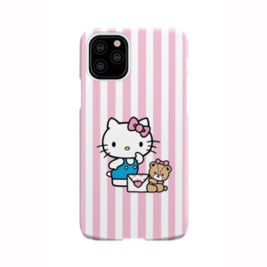 Cute Pink Hello Kitty for Cute iPhone 11 Pro Case