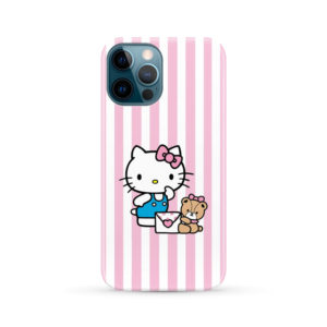 Cute Pink Hello Kitty for Cute iPhone 12 Pro Max Case