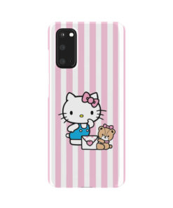 Cute Pink Hello Kitty for Newest Samsung Galaxy S20 Case