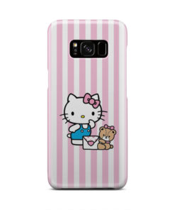 Cute Pink Hello Kitty for Newest Samsung Galaxy S8 Case