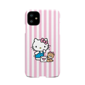 Cute Pink Hello Kitty for Nice iPhone 11 Case