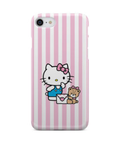 Cute Pink Hello Kitty for Nice iPhone 8 Case Cover