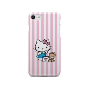 Cute Pink Hello Kitty for Personalised iPhone SE 2020 Case Cover