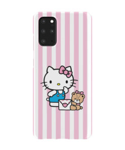 Cute Pink Hello Kitty for Stylish Samsung Galaxy S20 Plus Case