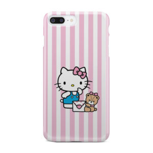 Cute Pink Hello Kitty for Trendy iPhone 8 Plus Case