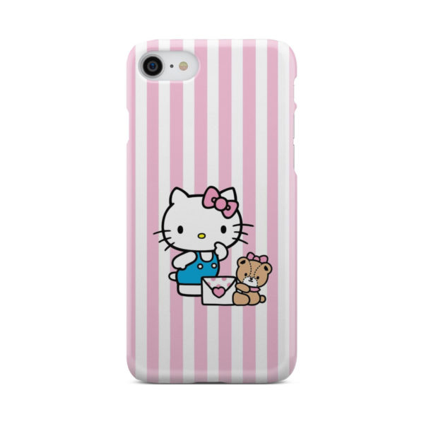 Cute Pink Hello Kitty for Unique iPhone 7 Case Cover