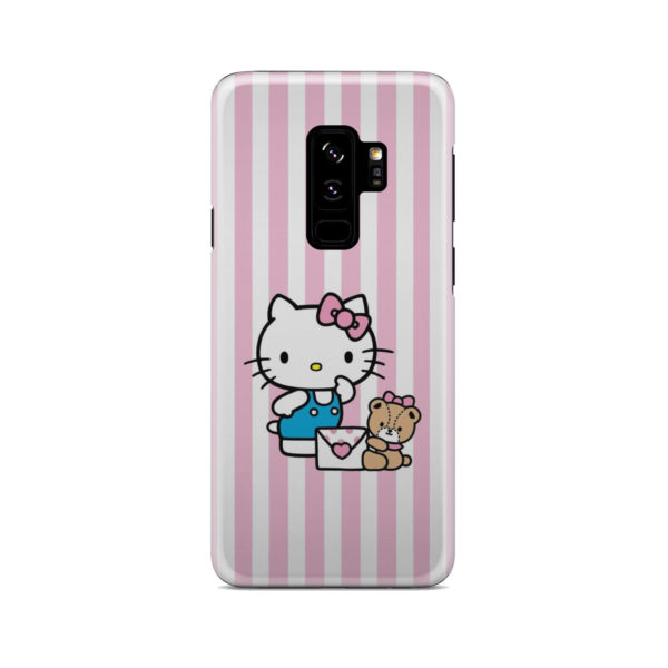 Cute Pink Hello Kitty for Unique Samsung Galaxy S9 Plus Case