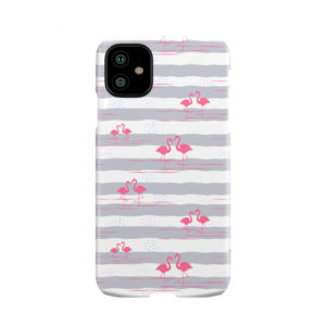 Flamingo Pink Stripes for Amazing iPhone 11 Case